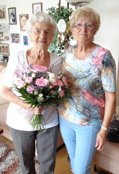 Rosa Spruzina 91 Jahre