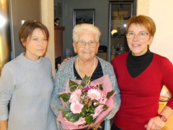 Messerer Ernestine 90 Jahre