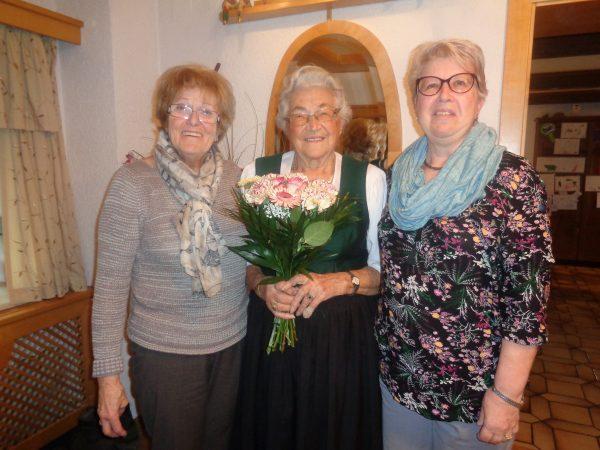 Christine Hafellner 91 Jahre
