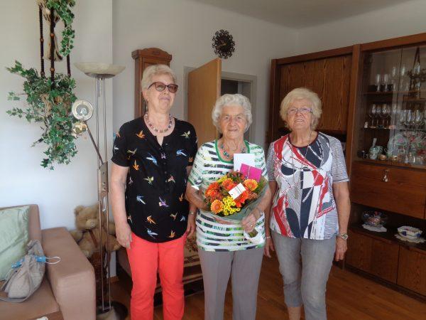 Rosa Spruzina 92 Jahre