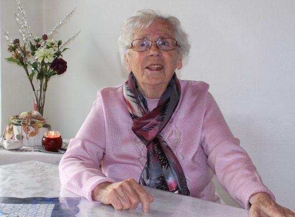 Weber Wilhelmine 91 Jahre